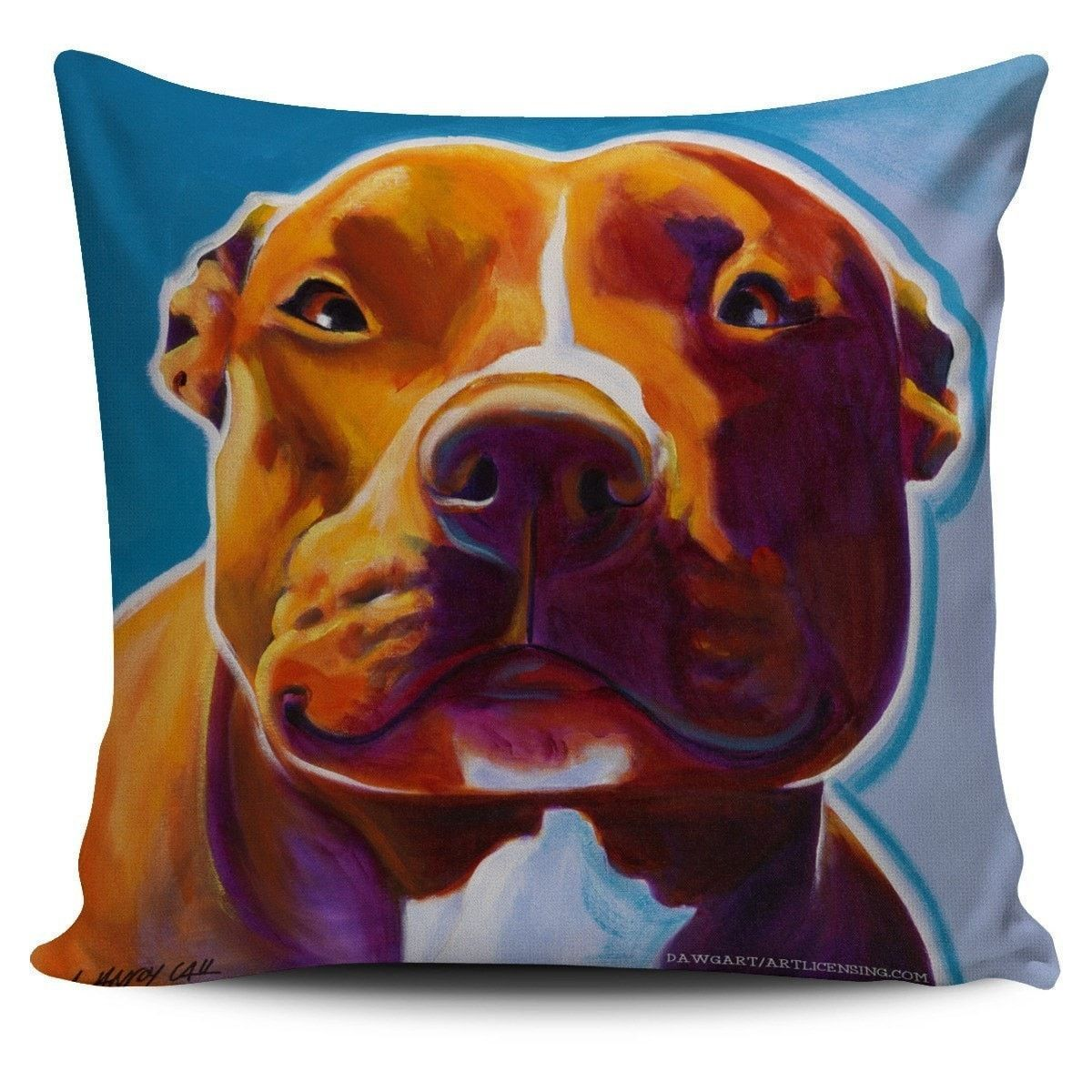 Pillow Covers - Pit Bull Lovers Series