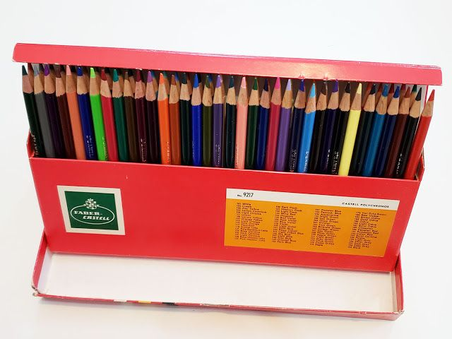 fueledclouds  coffee vintage colored pencils a w