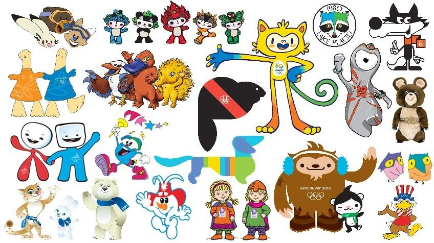 Animals Snowmen And Whatzits Olympic Mascots Through Time Blog Kids Cbc Olympic Games Olympic Mascots Mascot Olympics