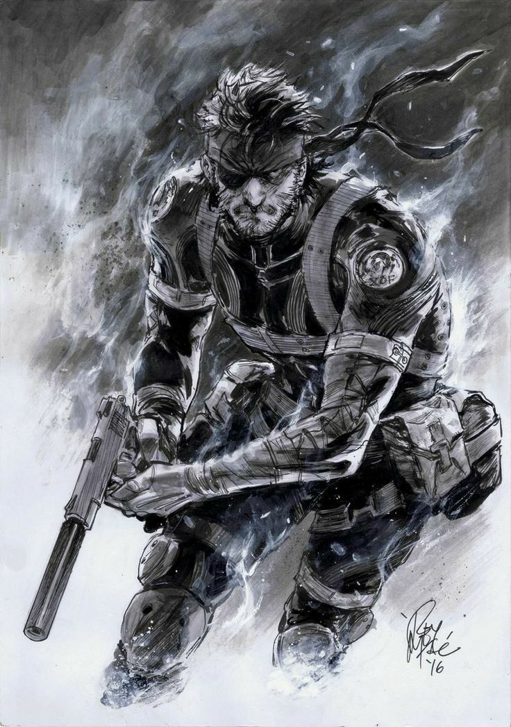 Pin By Sizar Mkr On Art Metal Gear Games Metal Gear Solid
