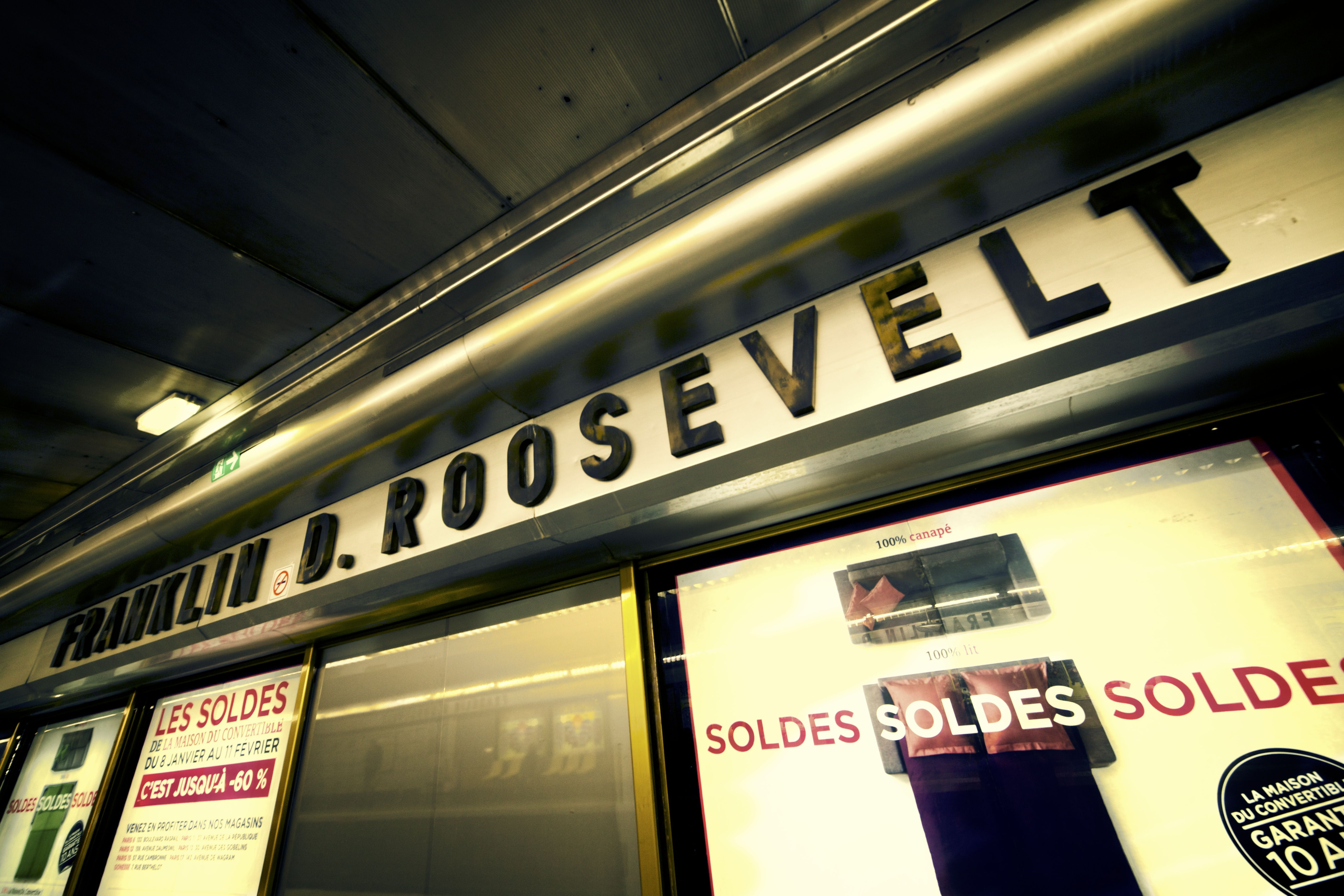 Paris Metro Station Franklin D Roosevelt By James Robinson