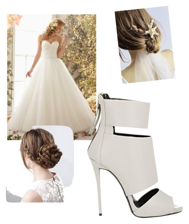 """Wedding"" by charlotteleewerth ❤ liked on Polyvore featuring beauty and Giuseppe Zanotti"