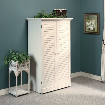 Amazon.com: Craft / Sewing Machine Cabinet Storage Armoire Organizer Drop  Leaf Table
