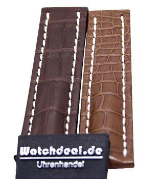Watchdeal KG - Breitling Krokodillederband 16/20/22/24 mm NEU inkl MWST