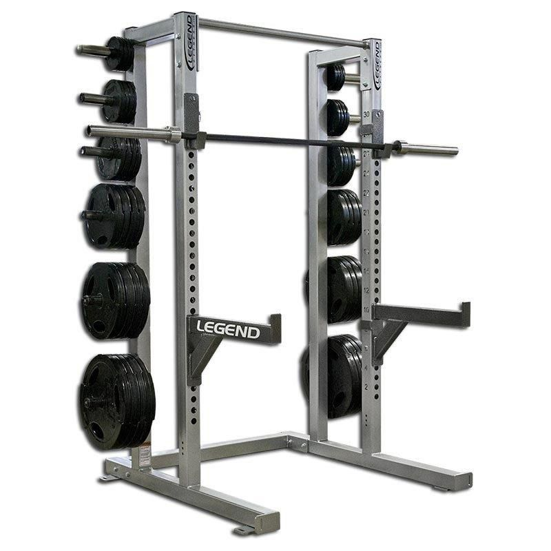 Weight lifting half cage legend fitness 3142 garage gym