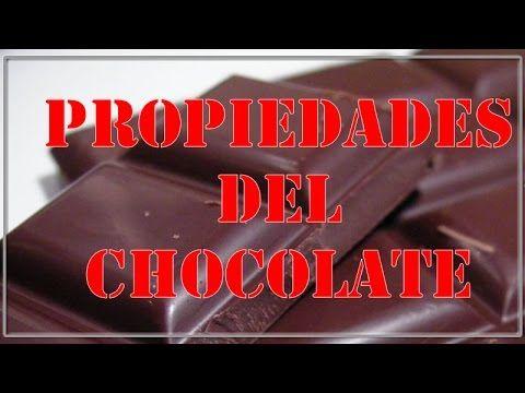 Conozca las propiedades del Chocolate