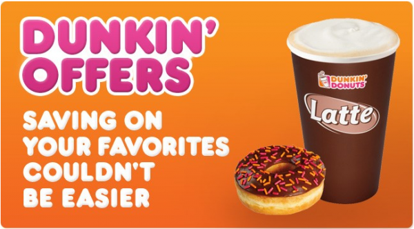 Dunkin' Donuts coupons Dunkin donuts, Donuts