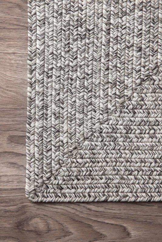 Kulpmont Hand Braided Gray Indoor Outdoor Area Rug