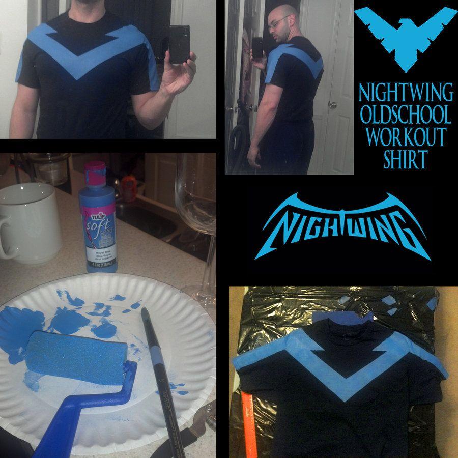 Custom Nightwing Shirt by ajb3art.deviantart.com on @deviantART ...