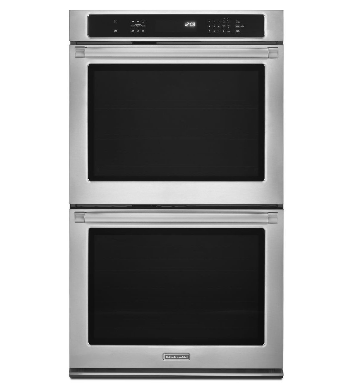 KitchenAid® 30 Inch Convection Double Wall Oven, Pro Line® Series  (KEBS209BSP