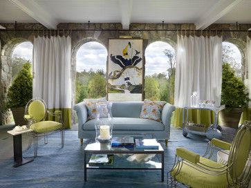 OUTDOOR ROOM – Absolutely beautiful outdoor living. Westchester Showhouse eclectic patio new york Stedila Design