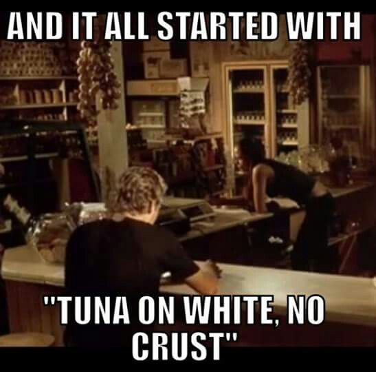 And It All Started With Tuna On White No Crust Fast Furious Fast Furious Quotes Fast And Furious Memes Fast And Furious