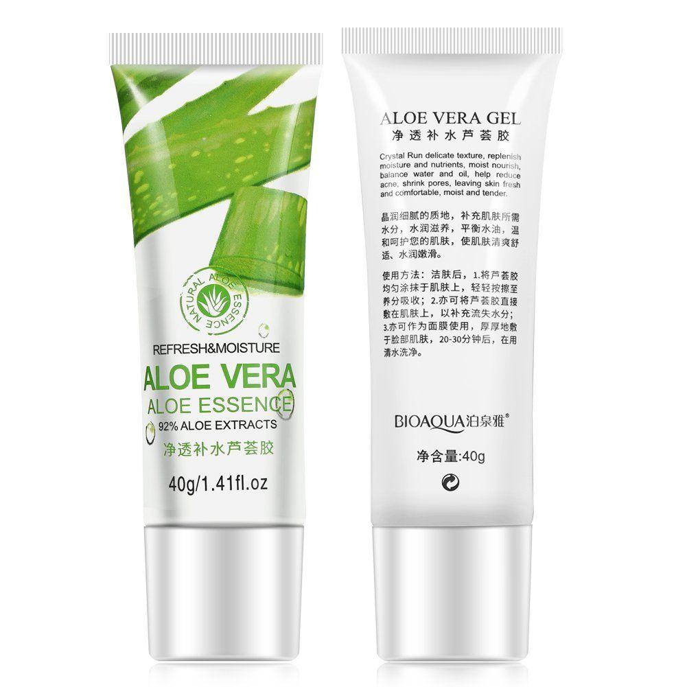 Bioaqua Aloe Vera Gel Hyaluronic Acid Anti Winkle Whitening Aloevera Moisturizing Skin Care Facial Cream Examine