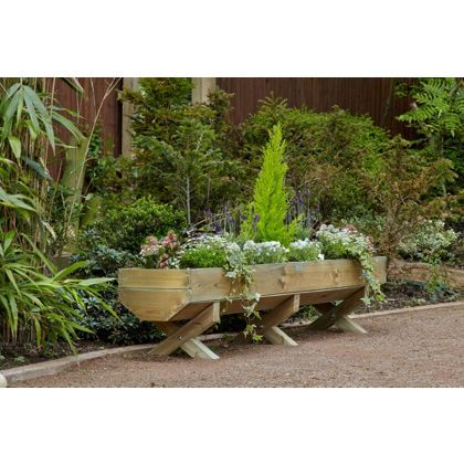 Mini Garden Trough - 1.8m at Homebase -- Be inspired and make your on wooden plant stands, wooden garden boxes, wooden garden walls, wooden furniture, wooden planter designs, wooden garden walkways, wooden planter centerpieces for weddings, wood wall box planters, wooden garden shelves, wooden bird feeders, wooden garden toys, wooden birdhouses, wooden vases, wooden garden sculptures, wooden garden figurines, wooden garden flowers, wooden garden ornaments, wooden garden containers, wooden garden art, wooden garden accessories,