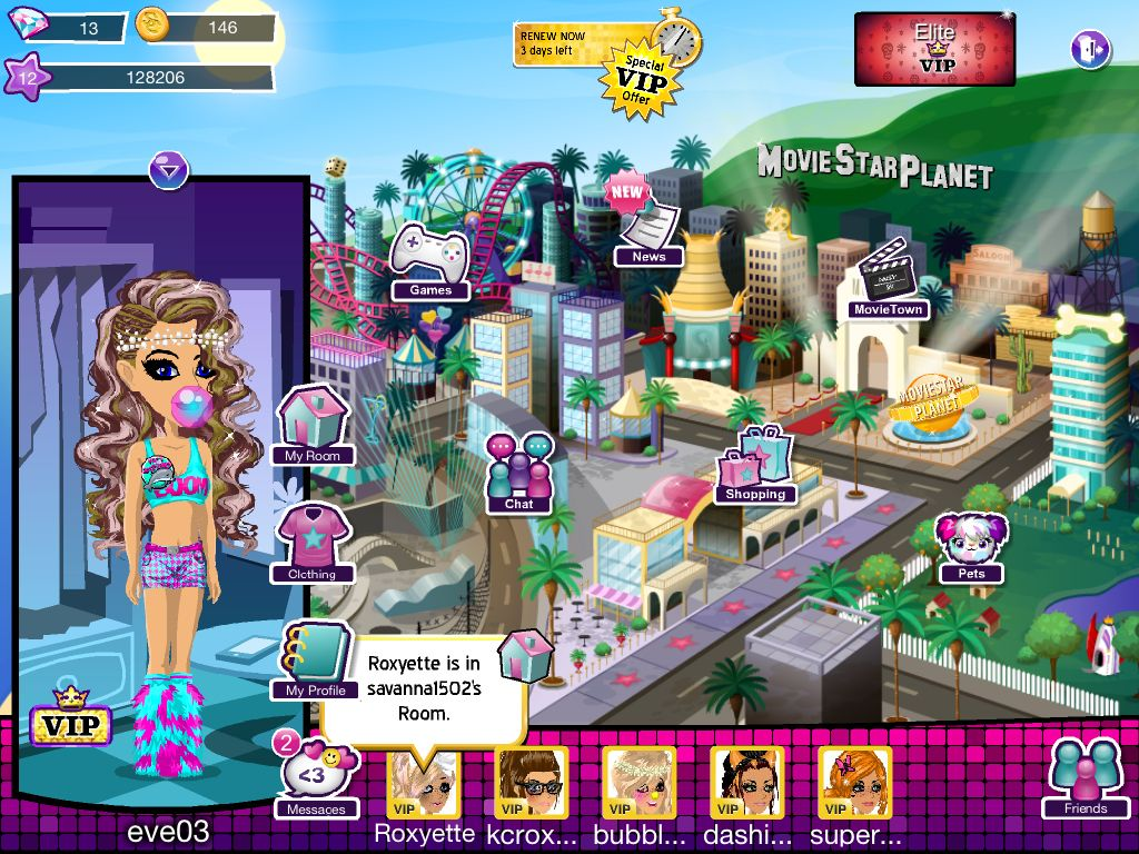 me on moviestar planet im an elite vip for a year but just blew all