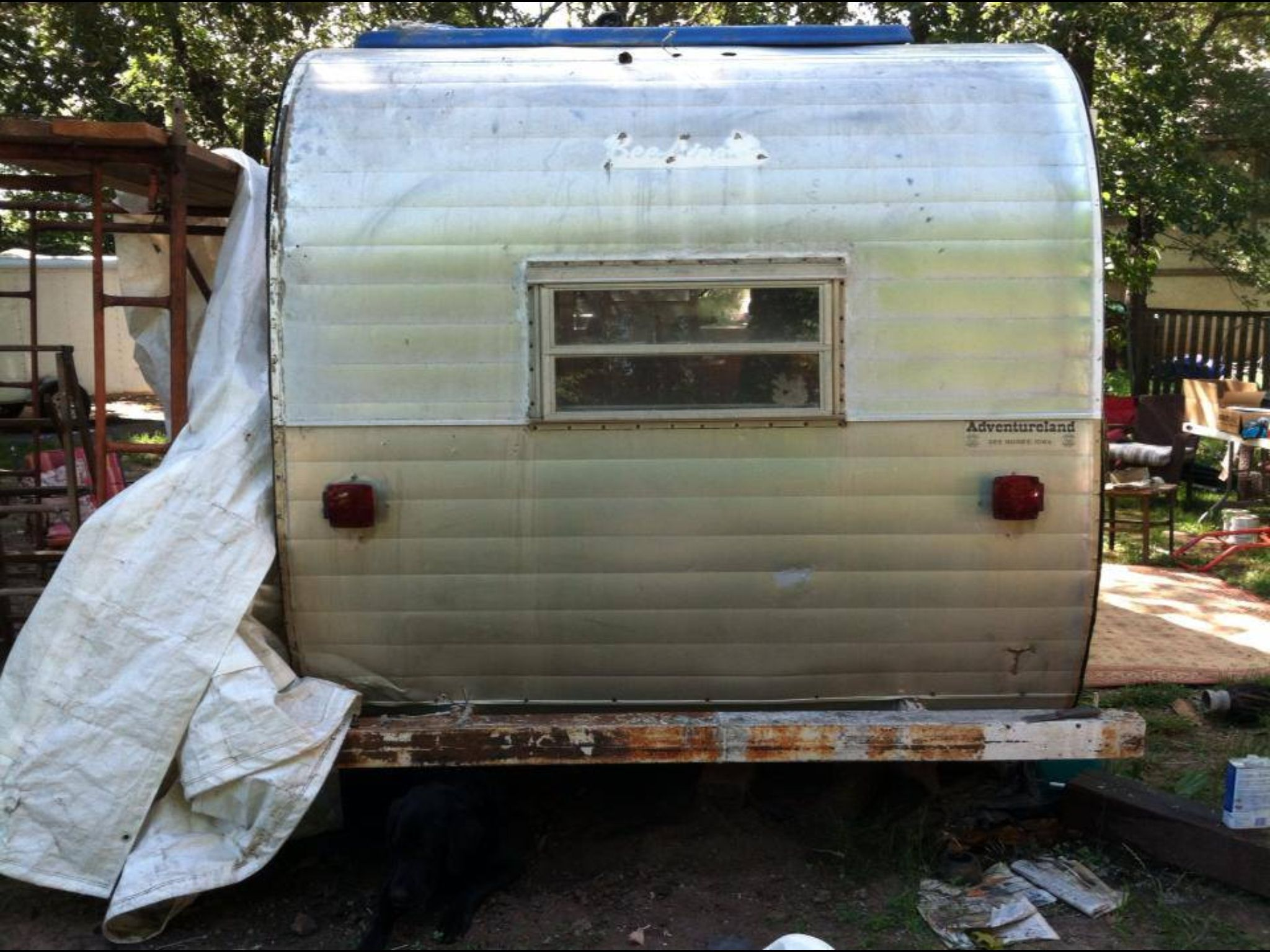 Before rear gypsy rosecamper