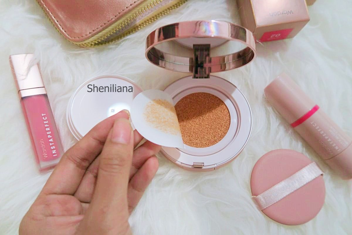 [Beauty Review] ALL WARDAH INSTAPERFECT BB CUSHION CITY