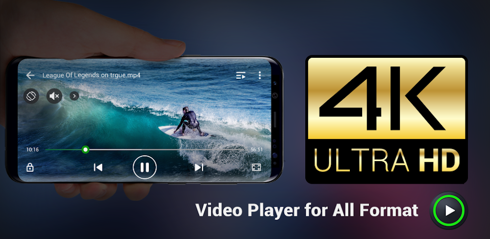 Resultado de imagen de XPlayer (Video Player All Format)