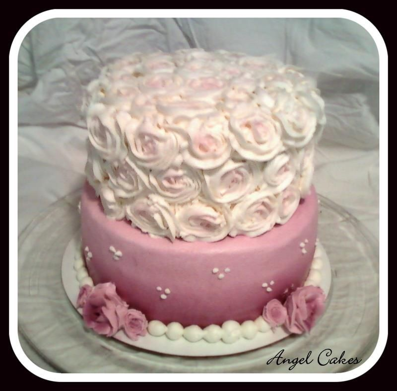 Cake Decorating Ideas For Mom S Birthday : Moms 60th birthday cake all buttercream My cakes ...