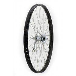 Kuvahaun tulos haulle polkupyörän teräsvanne musta 28 ´
