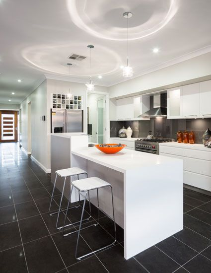 Kitchen of The Sierra 31 Home design display home by Kurmond Homes ...