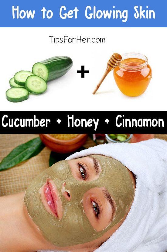 glowing skin mask