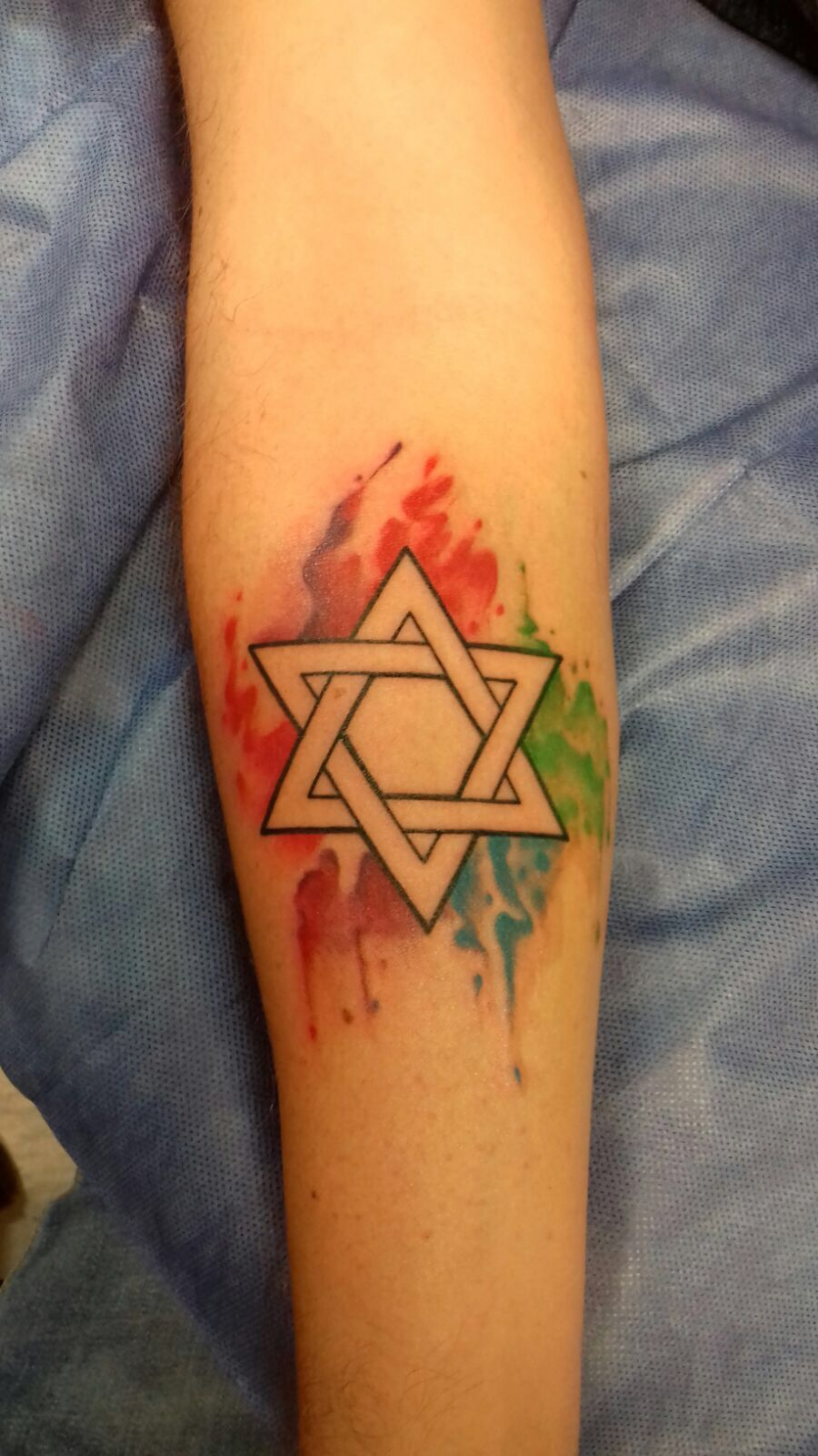 Tatuaje Tatto Estrella De David Tatuaje Pinterest Tattoos