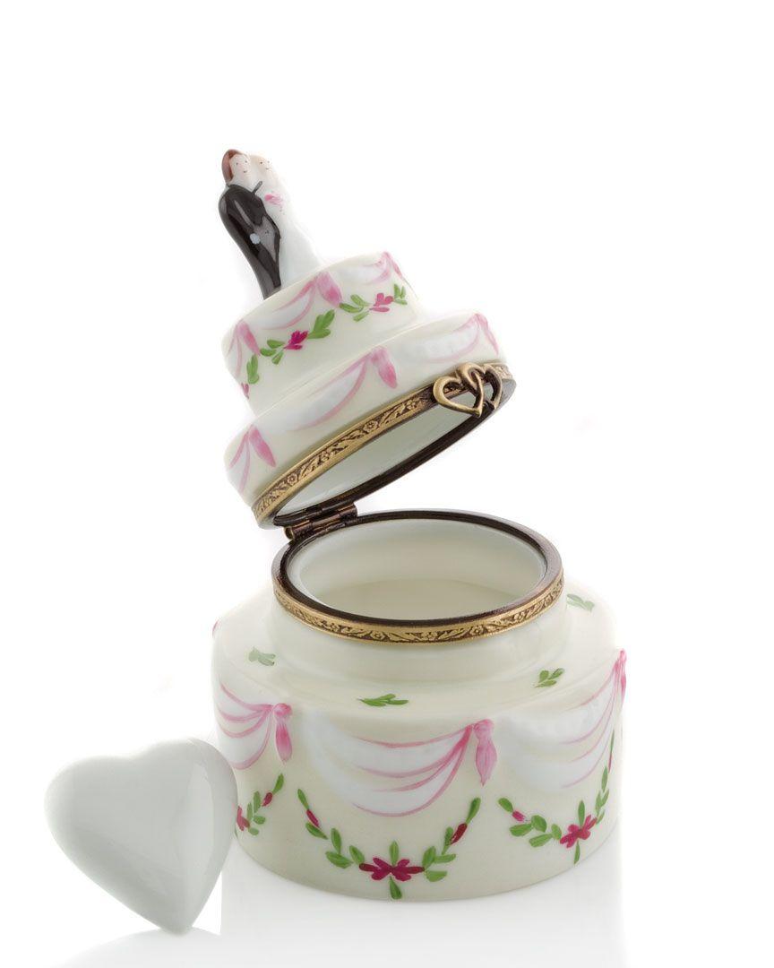 Limoges Wedding Cake Box