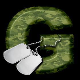 Alphabets By Monica Michielin Soldier Camouflage Dog Tag Alphabet Alfabeto Dia Do Soldado 25 De Agosto Alphabet Dog Tags Camouflage