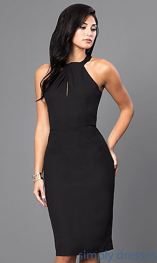 dependable performance top-rated discount top-rated genuine Fitted Sleeveless Knee-Length Cocktail Party Dress ...