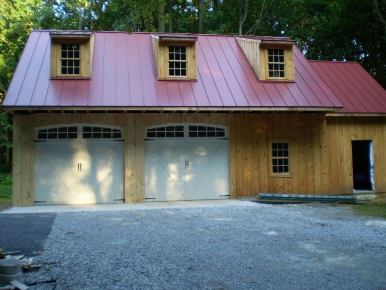 Best Red Metal Roof On Boathouse Metal Roof Installation 400 x 300