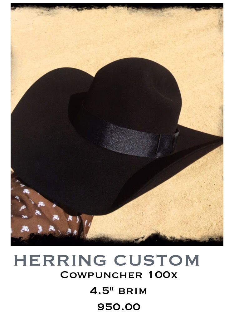 cd8956e3 Herring Custom cowboy hat Hand made in Texas | Hats | Custom cowboy ...