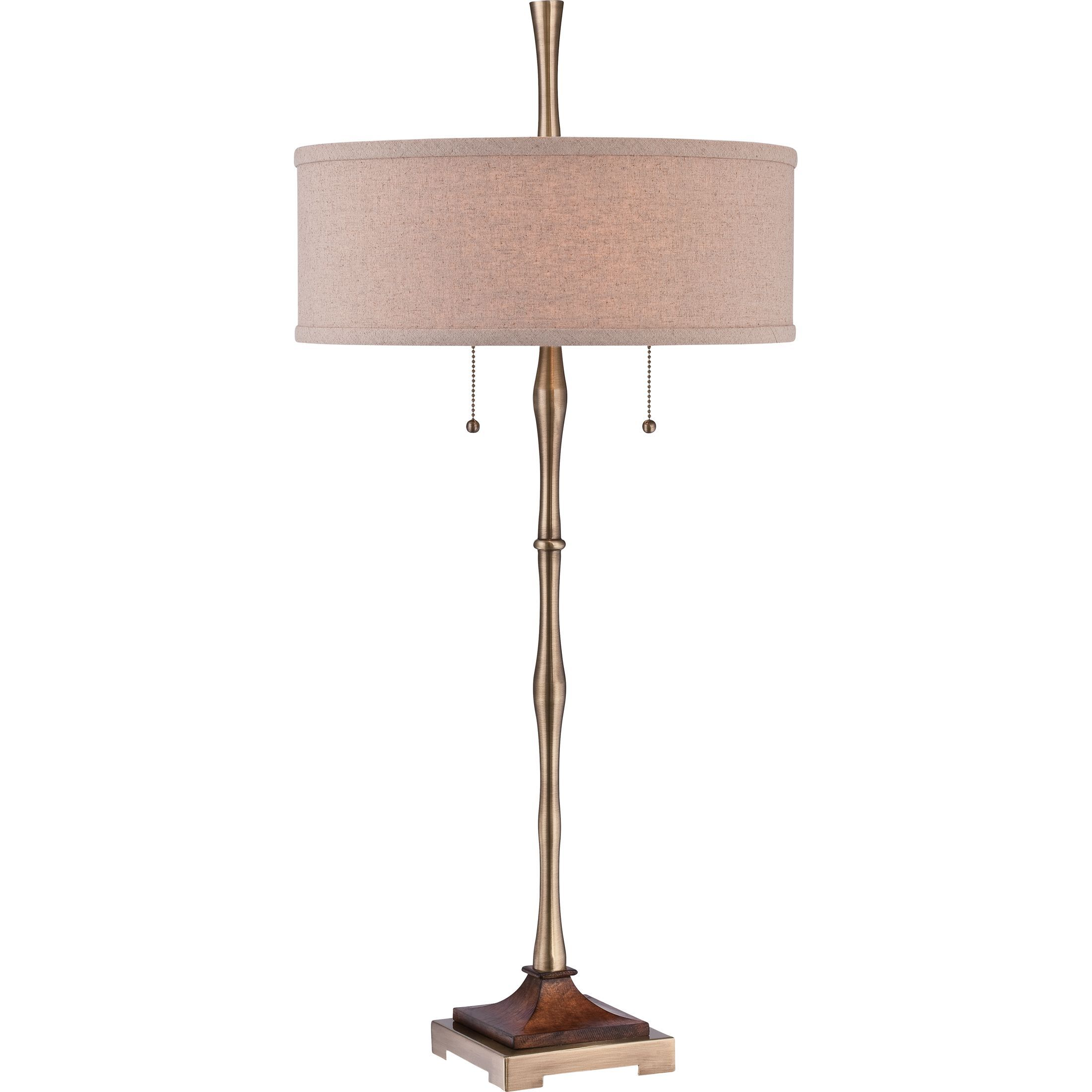 lamps quoizel grove pin style craftsman lamp park table