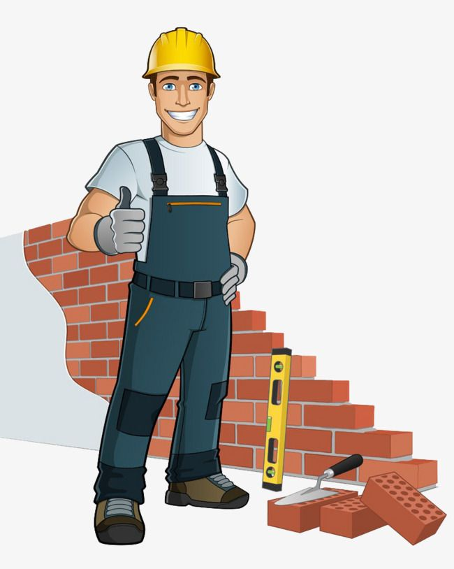 Drywall Workers Safety Hat Thumb Cartoon Worker Png And Vector With Transparent Background For Free Download Cartoon Logo Cartoon Cartoon People