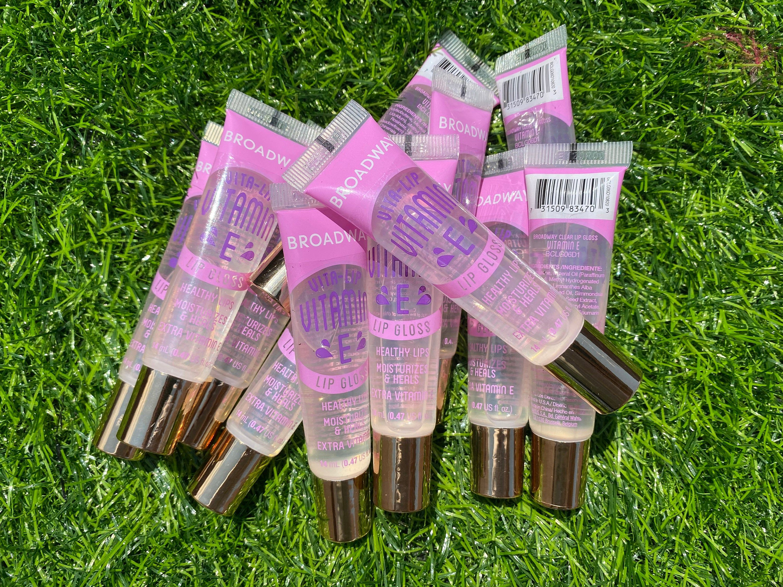 12 Pack Broadway Vita Lip Gloss Vitamin E Oil By Kiss Cosmetics In 2021 Lip Gloss Lip Gloss Collection Kiss Cosmetics