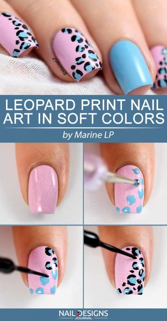 13 Easy Tutorials Different Nail Designs Step By Step Manucure
