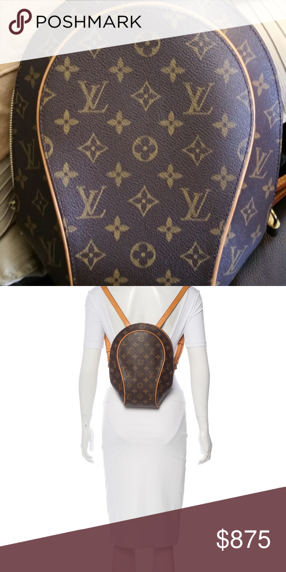 2f8e250d1715 Louis Vuitton Ellipse Backpack This chic and stylish Louis Vuitton Monogram  Canvas Ellipse Sac