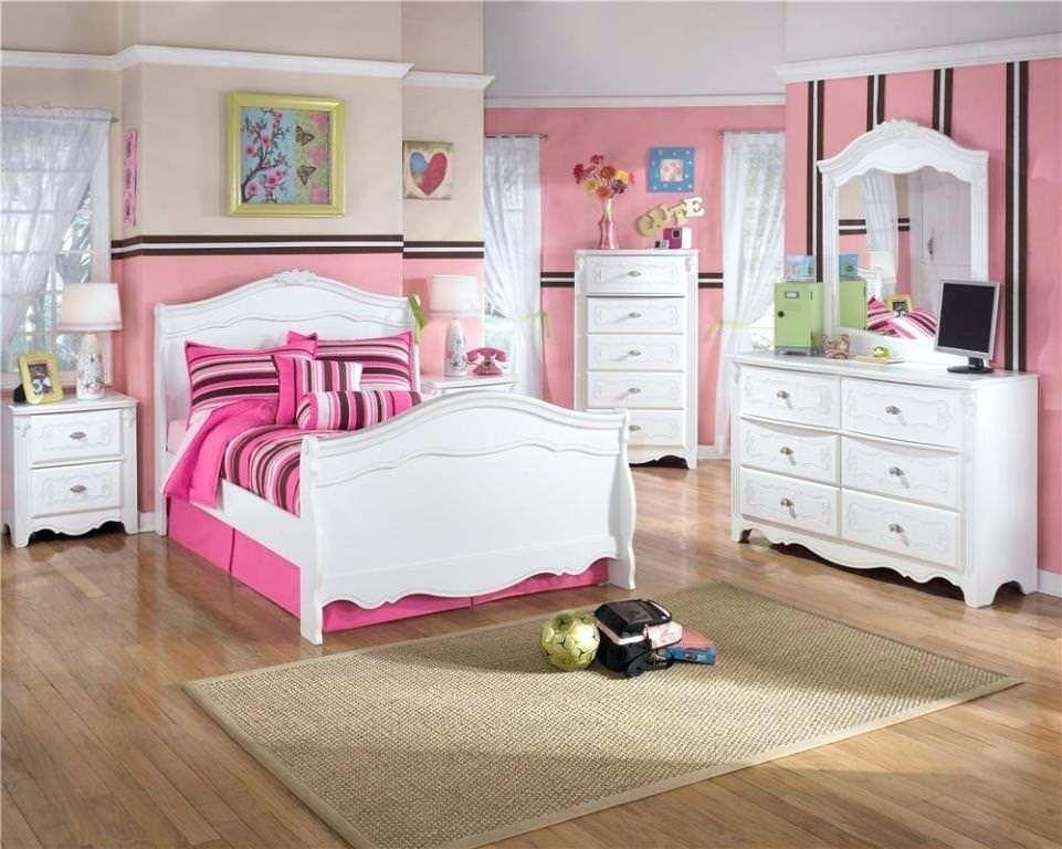 Teenager Mädchen Schlafzimmer Möbel #zebra #panel #wand #ideen #