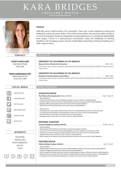 Yale Chronological Resume Resume Layout Job Seeking