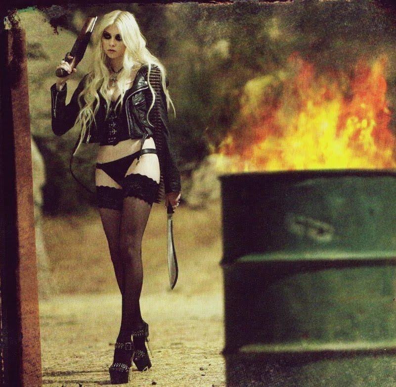 Wild West #5 Taylor Momsen for Revolver Magazine