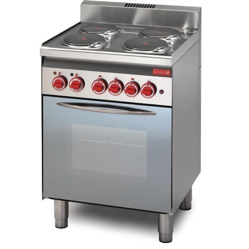 Cocina Electrica 4 Placas Y Horno De Conveccion 60 60cfe Linea 600