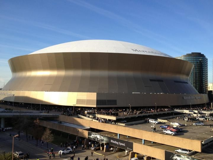 Travel guide for mercedes benz superdome home of the new for Mercedes benz superdome new orleans la