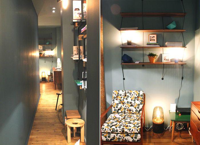 Inauguration Du Concept Store Kann Design Boutique Deco Dans La Quartier Du Canal Saint Martin Meuble Sixties Etagere Design Concept Store Stores