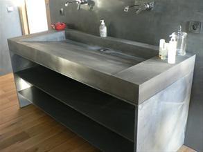 VASQUE et PLAN-VASQUES en SupraBéton®* de BALIAN BETON | bathroom ...