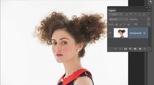 How to cut out hair in Photoshop | Photoshop