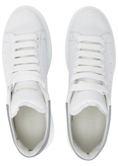 7712e177940 ALEXANDER MCQUEEN White leather trainers