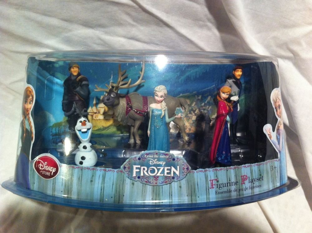 Disney frozen elsa anna olaf sven hans cake topper 6