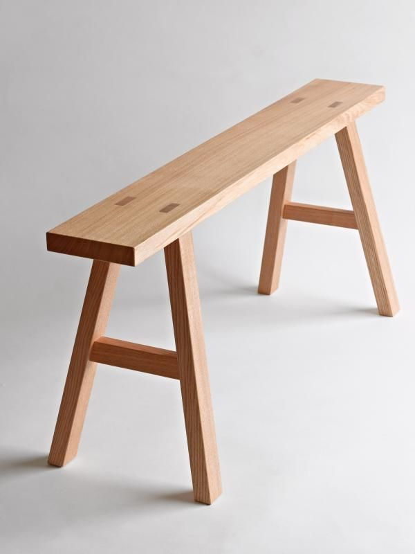 Oak Bench From Found Muji Collection Furniture Amp Things