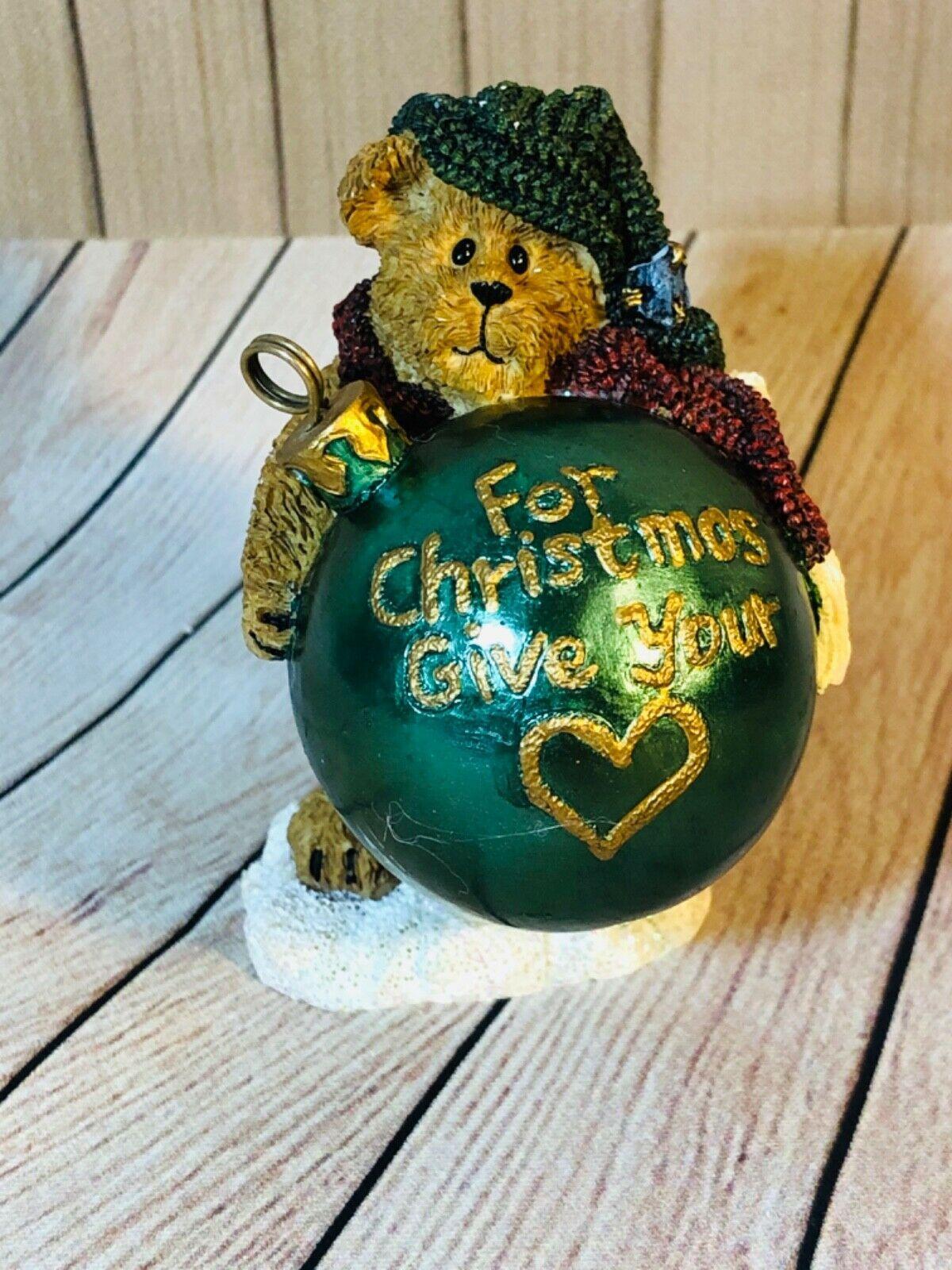Boyds Bears Naughty & Nice For Christmas Give Your Heart ...
