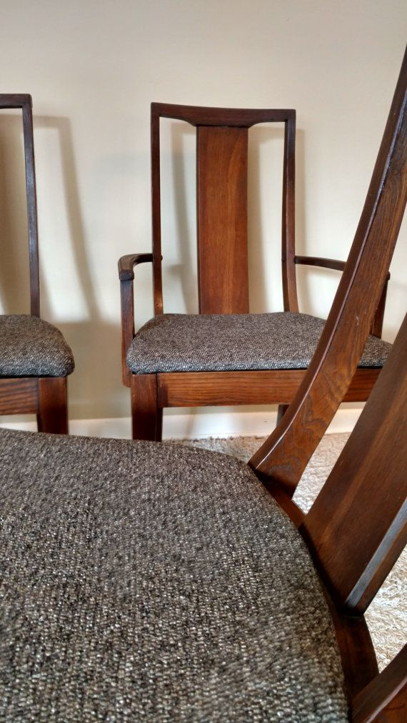 Mid Century Broyhill Premier Set Of Four Or Five Dining Chairs